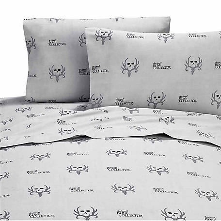 Bone Collector Black/Grey Full Sheet Set
