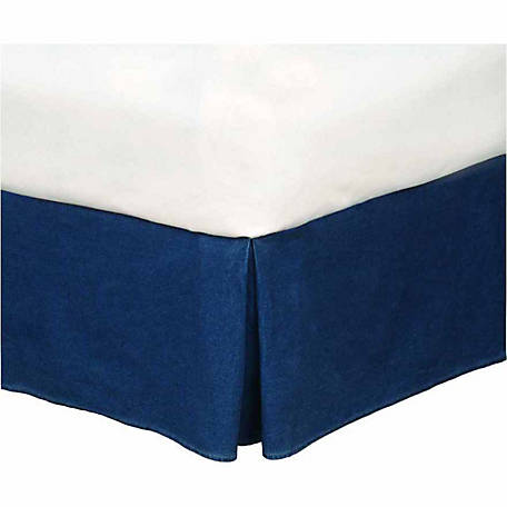 Karin Maki Denim King Bed Skirt