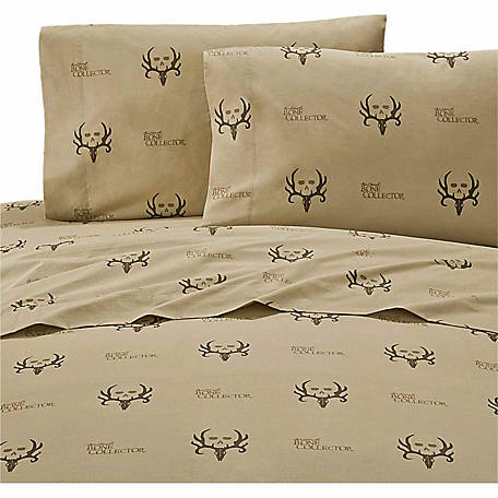 Bone Collector Queen Sheet Set