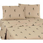 Browning Buckmark Queen Sheet Set
