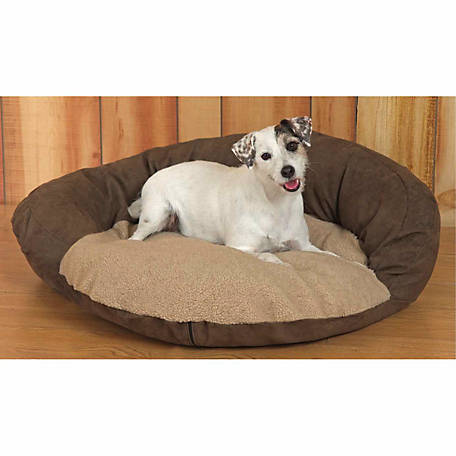 Karin Maki Brownsuede Dogbed Pillow, 30 in.