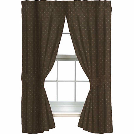 Blue Ridge Trading Whitetail Dreams Drapes, Lined, 84 in. x 42 in., 2 Panels
