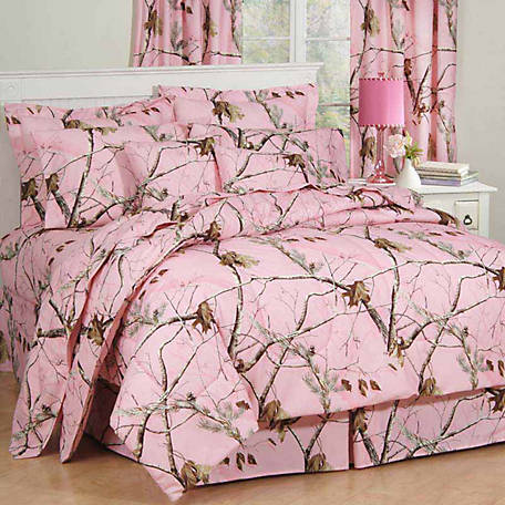 Realtree AP Pink Full Comforter Set