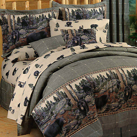 Blue Ridge Trading The Bears Twin Comforter Set