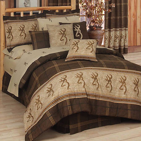 Browning Buckmark Full Comforter Set