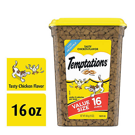 Whiskas TEMPTATIONS Tasty Chicken 16oz