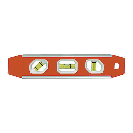 Johnson Level 9 in. Magnetic Aluminum Torpedo Level, 53-022