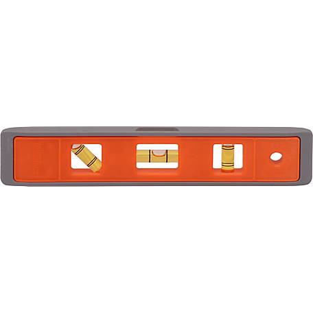 Johnson Level 9 in. Magnetic Structo-Cast Torpedo Level, M7500M