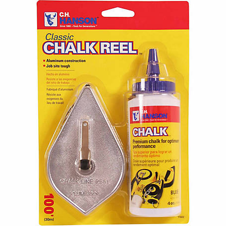 100 ft. Chalk Reel with 4 oz. Blue Chalk