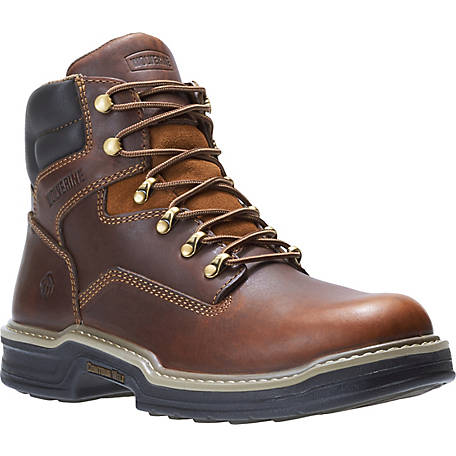 cb3d782c208 Wolverine Men's Raider 6 in. Soft Toe Work Boot at Tractor Supply Co.