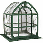 FlowerHouse PlantHouse 5, Clear, 5 ft. x 5 ft. x 6-1/2 ft.
