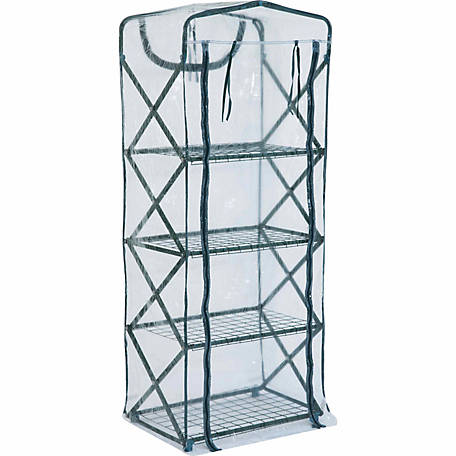 FlowerHouse PlantTower X-Up Clear Cover, 63 in. x 18-1/2 in. x 27 in.