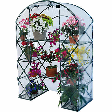 FlowerHouse HarvestHouse Plus, 4-1/2 ft. x 2-1/2 ft. x 6-1/2 ft.