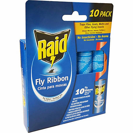 Raid Fly Ribbon, Pack of 10