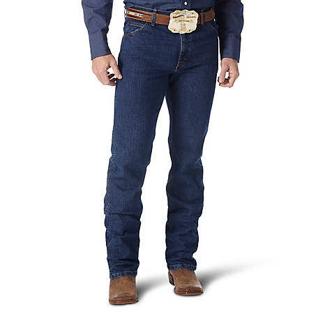 Wrangler Men's Premium Performance Advanced Comfort Cowboy Cut Regular Fit Jean