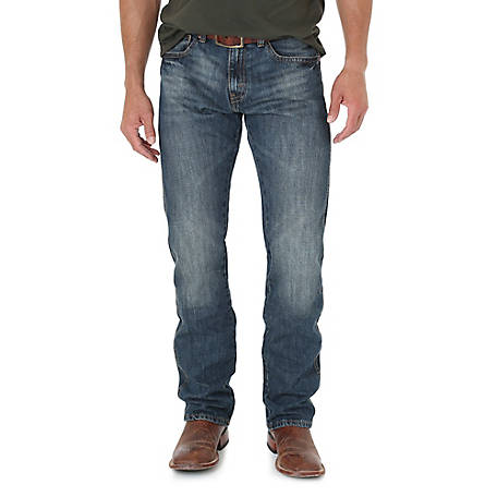 Wrangler Men's Retro Slim Fit Straight Leg Jean