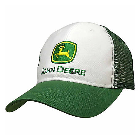 195c3955388 John Deere Mesh Back Trucker Baseball Cap at Tractor Supply Co.