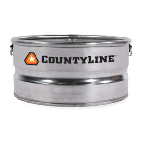 Countyline Galvanized Utility Stock Tank 23 Gal At