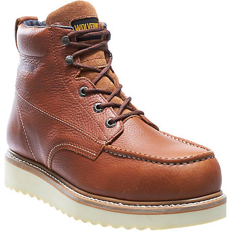 Wolverine Men's Moc-Toe 6 in. Wedge Work Boot