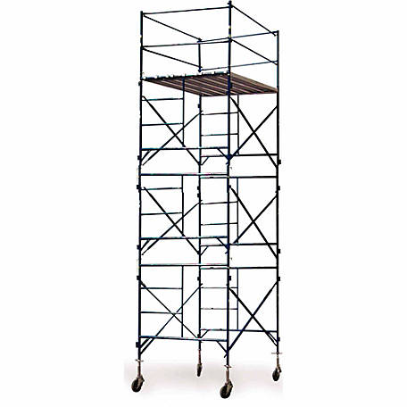 Buffalo Tools Three Story Rolling Scaffold Tower