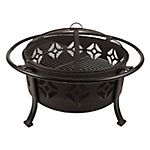 Pleasant Hearth Sunderland 12 in. Deep Bowl Fire Pit