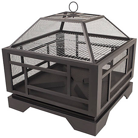 Pleasant Hearth OFW526S 26 in. Solus Fire Pit