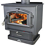 US Stove Pedestal Wood Stove with Blower, 2,000 sq. ft., 2000