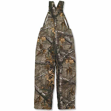Carhartt Boy's Camo Cotton Duck Bib Overall