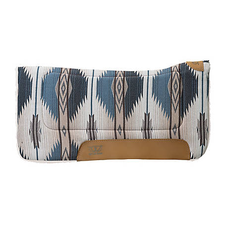 Weaver Leather All Purpose 32 X 32 in. Contoured Saddle Pad, Pueblo Indigo