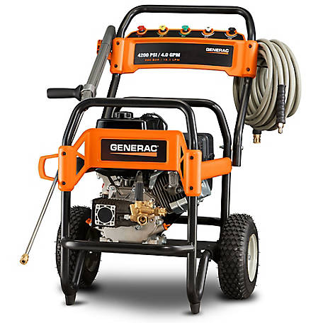 Generac 6565 - Professional Grade 4200 PSI 4.0 GPM Commerical Pressure Washer, 49-State, 6565