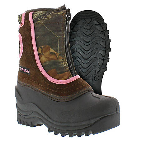 Itasca Girls' Snow Stomper Winter Boot