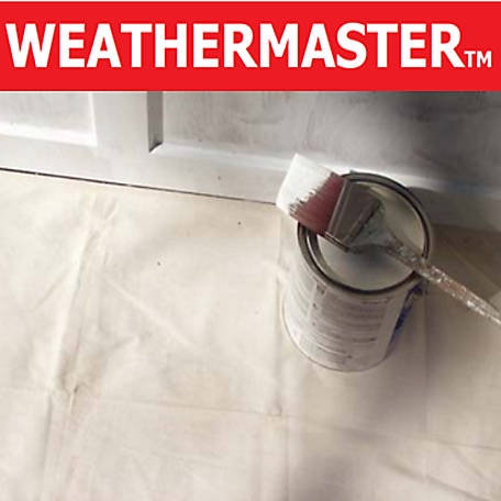 Weathermaster Painters Drop Cloth, 4 ft. x 15 ft.