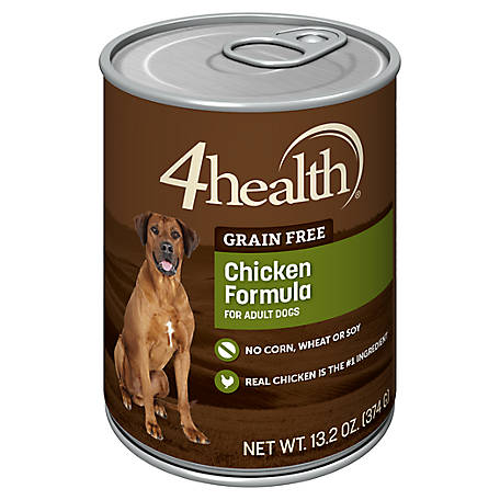 4health Grain Free Chicken Dog Food, 13.2 oz. Can