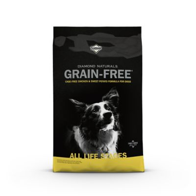 Diamond Naturals Grain-Free Chicken & Sweet Potato Formula Dog Food, 28 lb. Bag