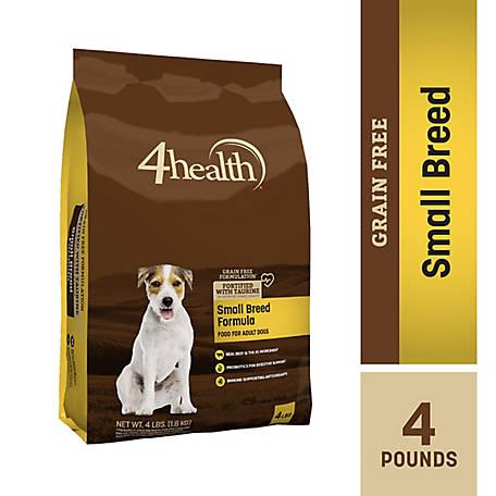 4health Grain Free Small Breed Formula Dog Food 4 Lb Bag At Tractor Supply Co