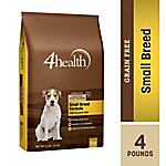 4health Grain-Free Small Breed Formula Adult Dog Food, 4 lb. Bag