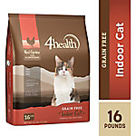 4health Grain Free Indoor Cat Formula for Adult Cats, 16 lb. Bag
