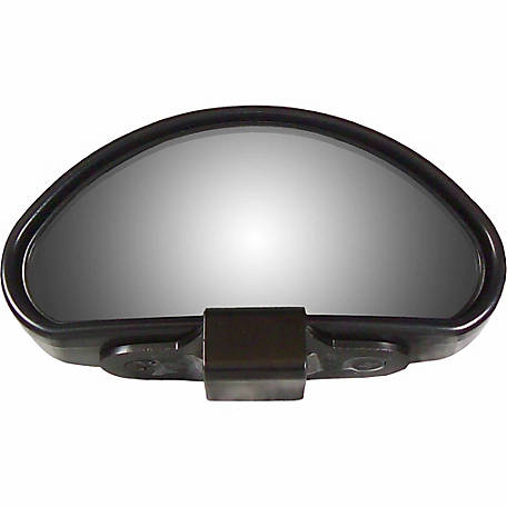 Cipa USA Top Mount Wide Angle Blind Spot Mirror, Black