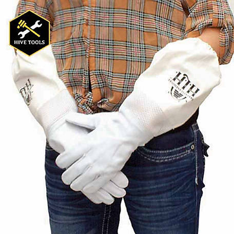 Harvest Lane Honey Unisex Beekeeping Protective Gloves