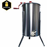Harvest Lane Honey 2-Frame Manual Metal Honey Extractor
