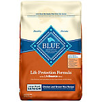 Blue Buffalo Life Protection Formula Chicken & Brown Rice Recipe For Large Breed Senior Dogs, 30 lb.