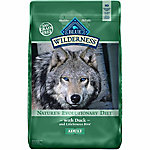 BLUE Wilderness Duck For Adult Dogs, 11 lb. Bag