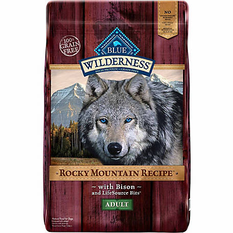 BLUE Wilderness Rocky Mountain Recipe Bison For Adult Dogs, 22 lb. Bag