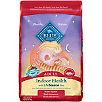 Blue Buffalo BLUE Adult Indoor Health Salmon & Brown Rice Dry Cat Food, 15 lb. Bag