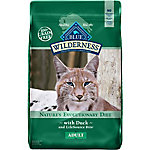 Blue Buffalo BLUE Wilderness Adult Grain-Free Duck Dry Cat Food, 11 lb. Bag