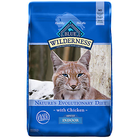 Blue Wilderness Indoor Chicken Recipe For Adult Cats, 11 lb.