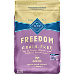Blue Buffalo BLUE Freedom Adult Indoor Grain-Free Chicken Dry Cat Food, 11 lb. Bag