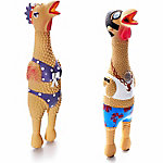 Charming Pet Large Rubber Squawker Dog Toy