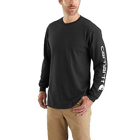e0f5243b5 Carhartt Men's Long Sleeve Graphic Logo T-Shirt