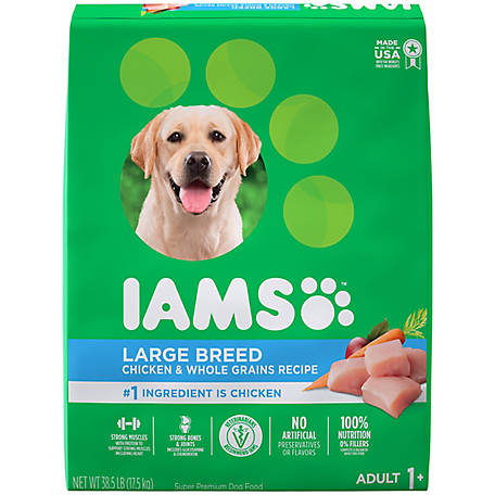 Iams ProActive Health Chicken Large Breed Dry Dog Food, 38.5 lb. Bag